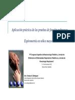 Rodriguez Espirometria