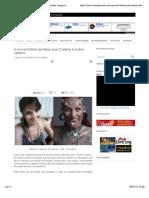 A incrível história de Maria José Cristerna á mulher vampira | Visionário