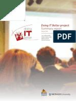 doingITbetter-SummaryReport