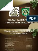 Telaah Lassa Fever Terkait Potensial Pheic