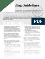 Fair Dealing Guidelines