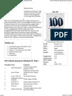 The 100 (Buku) - Wikipedia Bahasa Indonesia, Ensiklopedia Bebas