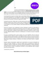 Comunicado de la Red de Información por el Aborto Seguro Venezuela
