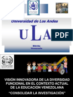 ConferenciaYaracuy2013 Educ Especial