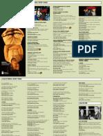 Agenda de Cultura y Ocio de Abril (Gobierno de Canarias)