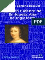 Oracion Funebre de Enriqueta Ana de Inglaterra-bossuet