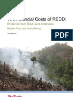 Financial Cost of REDD