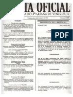 Decreto Nº 7.981 Del 6 ENERO 2011, Expropiación 20 Parcelas de Terreno, Caracas