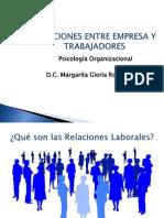 Relaciones Entre Empresa y Trabajadores 2014