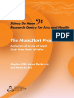 music start project report