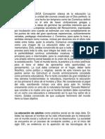 EDUCACIÓN CLÁSICA Concepción clásica de la educación La concepción de En la unidad del cosmos creado por el Dios perfecto.docx