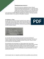 10 Isu Panas Dunia Pendidikan Malaysia 2013