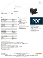 Coelmo 30 KVA PDT113-Ne