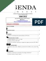 Agenda Semanal 2012-25