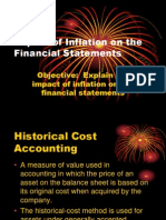 Impact of Inflation on the Financial Statements