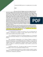 La Oralidad Como Garantía Del Debido Proceso y Sus Implicaciones en Los Medios Probatorios