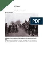 Battle of the Aisne