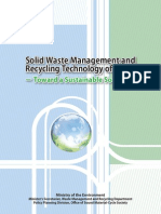 Solid waste management and recycling technology of japan