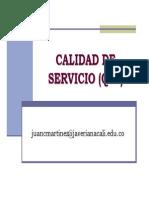 Daysenr - Calidad de Servicio Qos