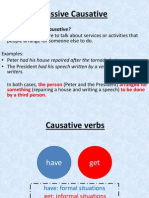 Passive Causative