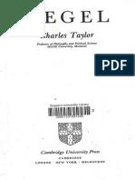 103391187 Charles Taylor Hegel