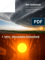 Het Sublieme - Powerpoint Presentation
