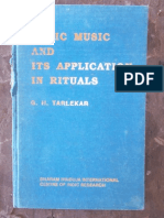 G. H. Tarlekar - Vedic Music and its application in rituals