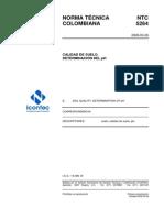 NTC5264 Determiancion Del PH