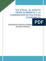 La Politica Fiscal- Macroeconomia