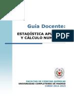 GQ_Guia Docente Estadistica Aplicada y Calculo Numerico_2014_FINAL