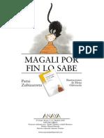 Magali Por Fin Lo Sabe