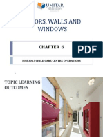 Chapter 6 - Floors, Walls and Windows