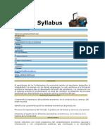 Syllabus Fundamentos de Economia