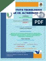 Caracteristicas y Operaciones de Puerto Estandar