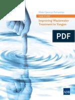 ADB _ Myanmar --- Water Operators Partnerships Case Study ---Improving Wastewater Treatment in YANGON _ August 2014