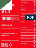 Manual de reparación M.R. 61 Torino GR-TSX modelos 619 - 628 actualización N°3 Diciembre 1978.pdf