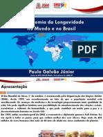 A Economia Da Longevidade No Mundo e No Brasil