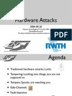 HardwareAttacks