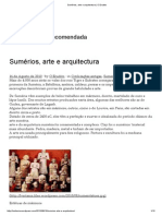 Sumérios, Arte e Arquitectura _ O Erudito