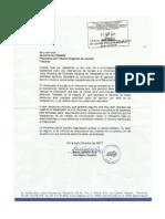 Carta SNTP a Gladys Gutierrez. Derecho a La Información Pública