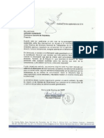 Carta SNTP a Adelina Gonzalez. Derecho a La Información Pública