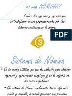 Introduccion Al Sistema de Nomina