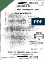 Ballistic Data for Ammunition Vol 2 1950
