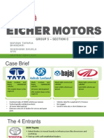 Eicher Motors_Group 5