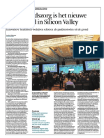 Gezondheidszorg is het nieuwe toverwoord in Silicon Valley (Financieel Dagblad)