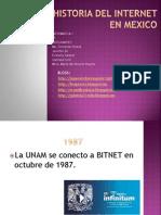 Historia Del Internet en Mexico (1)