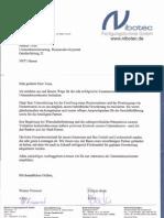 Bewertung der Foerdermittelberatung von Unternehmensberater Markus Tonn   Hamm