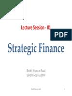 Lecture Strategic Finance-1