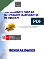 Ponencia- Notificacion de Accidentes de Trabajo