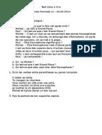 Examen de Corigență Clasa a VI2003